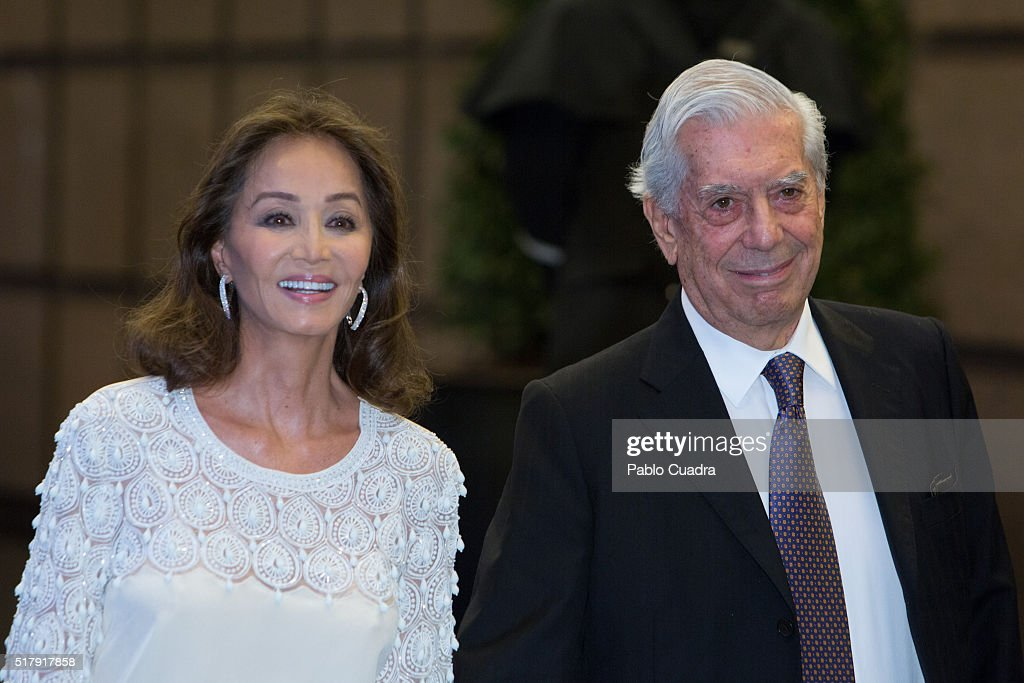 <a gi-track='captionPersonalityLinkClicked' href=/galleries/search?phrase=Isabel+Preysler&family=editorial&specificpeople=228933 ng-click='$event.stopPropagation()'>Isabel Preysler</a> and <a gi-track='captionPersonalityLinkClicked' href=/galleries/search?phrase=Mario+Vargas+Llosa&family=editorial&specificpeople=620765 ng-click='$event.stopPropagation()'>Mario Vargas Llosa</a> attend the <a gi-track='captionPersonalityLinkClicked' href=/galleries/search?phrase=Mario+Vargas+Llosa&family=editorial&specificpeople=620765 ng-click='$event.stopPropagation()'>Mario Vargas Llosa</a> 80th birthday party at the Villa Magna hotel on March 28, 2016 in Madrid, Spain.