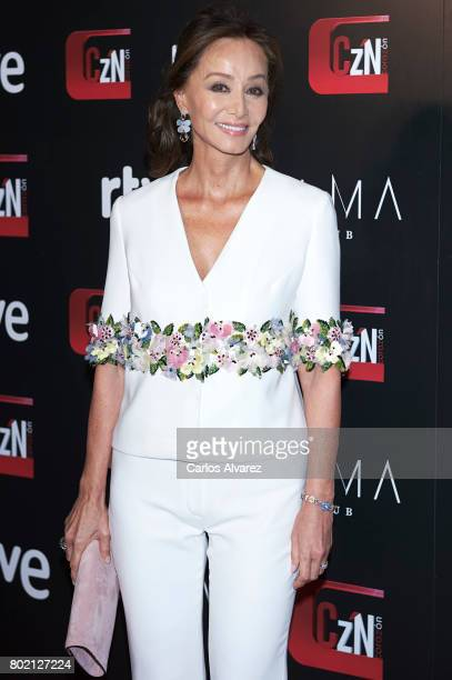 Isabel Preysler attends 'Corazon' TV programme 20th Anniversary at the Alma club on June 27 2017 in Madrid Spain