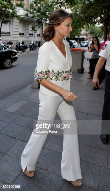 Isabel Preysler attends the 'Corazon 20th anniversary' party at Alma club on June 27 2017 in Madrid Spain