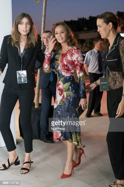 Isabel Preysler attends the inauguration of a new PORCELANOSA store in Madrid Spain 14 June 2017