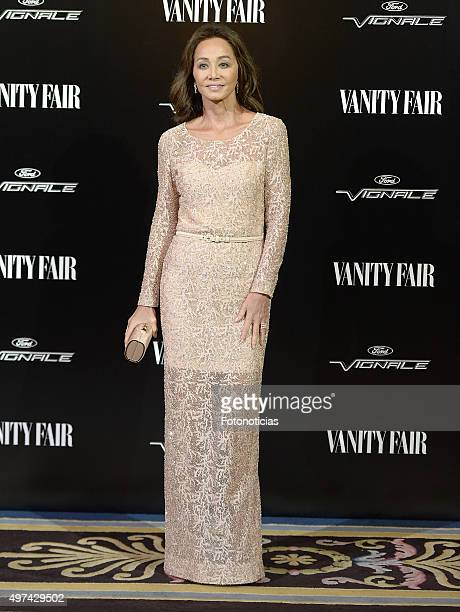 Isabel Preysler attends the 'Vanity Fair Personality Of The Year' Gala at The Ritz Hotel on November 16 2015 in Madrid Spain