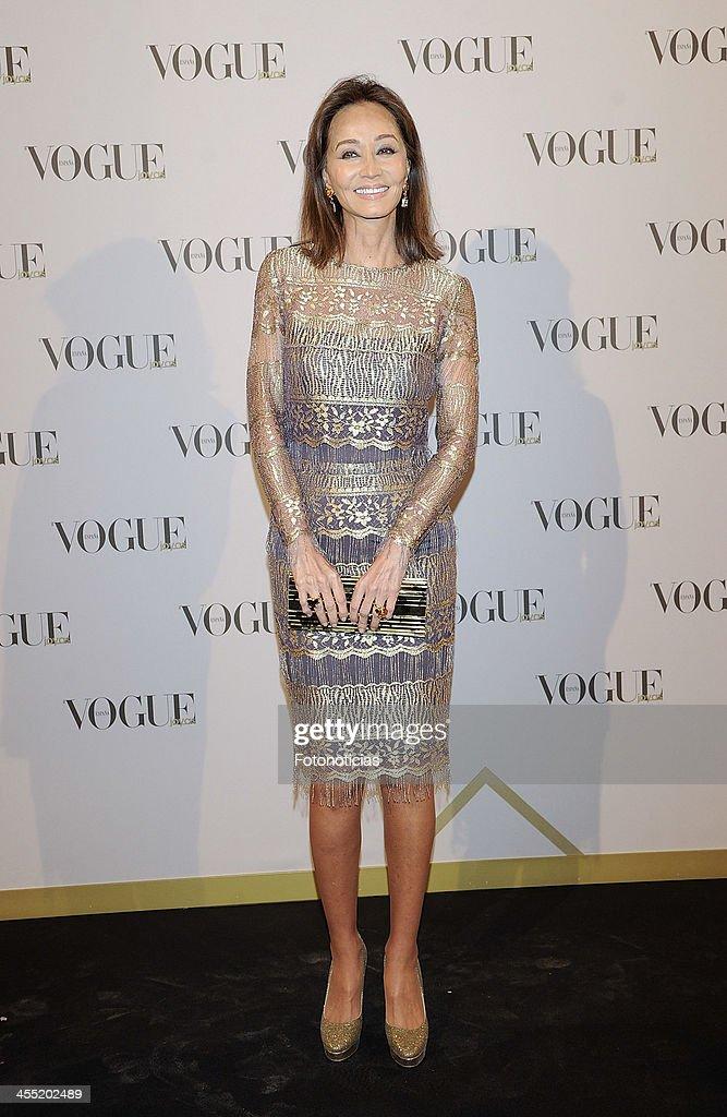 Isabel Preysler attends Vogue Joyas 2013 Awards at the Palacio de la Bolsa on December 11, 2013 in Madrid, Spain.