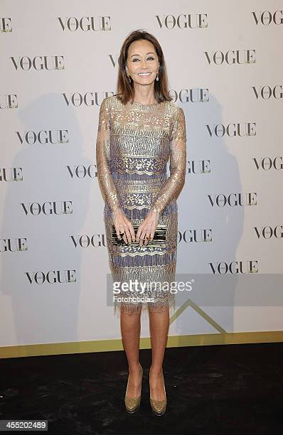 Isabel Preysler attends Vogue Joyas 2013 Awards at the Palacio de la Bolsa on December 11 2013 in Madrid Spain