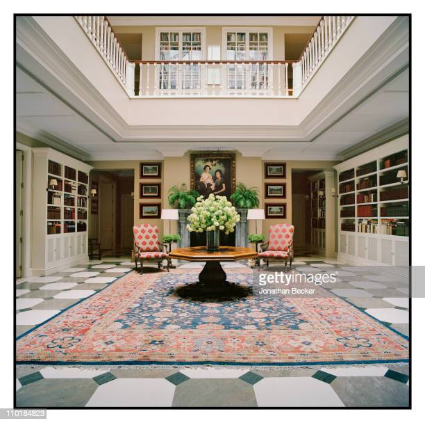 Isabel Preysler's home is photographed for Vanity Fair Spain on October 13 2010 in Madrid Spain Published image