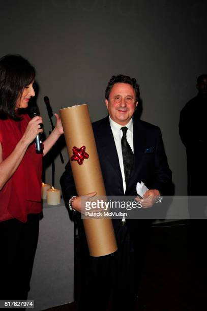 Isabel Rattazzi and Spyros Niarchos attend ACRIA 15th Annual Holiday Benefit Dinner hosted by InStyle Magazine and Urban Zen at Urban Zen Center at...