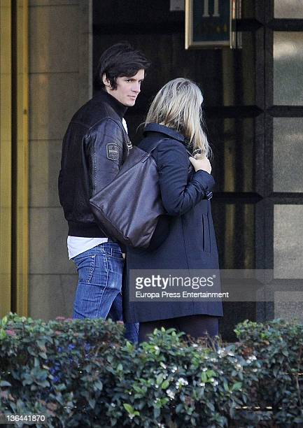 Isabel Sartorius and a friend are seen on December 23 2011 in Madrid Spain