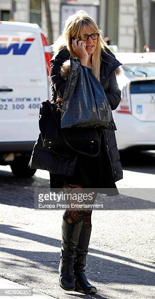 Isabel Sartorius is seen on January 13 2014 in Madrid Spain