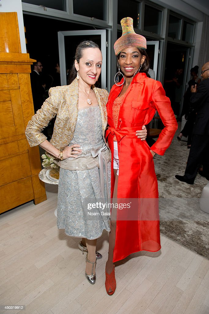 Isabel Toledo and Adriane Lenox attend the 'After Midnight' Tony Awards After Party on June 8 2014 in New York City