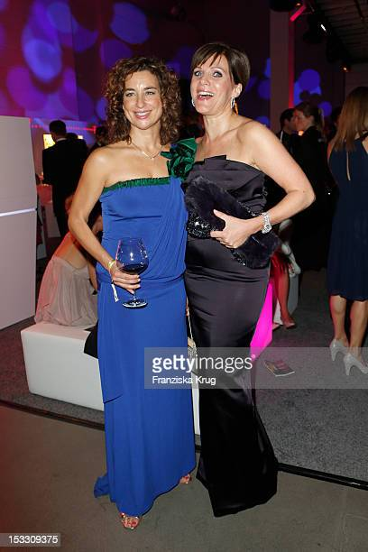 Isabel Varell and Birgit Schrowange attend the German TV Award 2012 at Coloneum on October 2 2012 in Cologne Germany