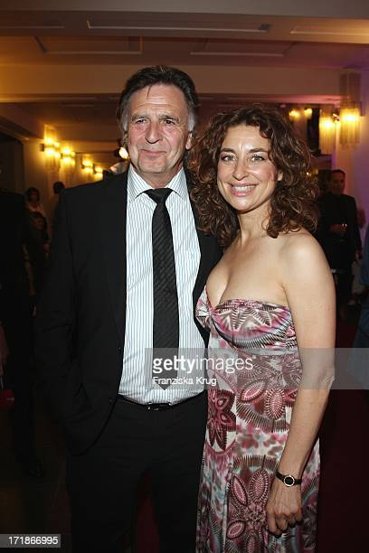 Isabel Varell And Pit Weyrich at the anniversary gala to '25 Years of New FriedrichstadtPalast' In Berlin