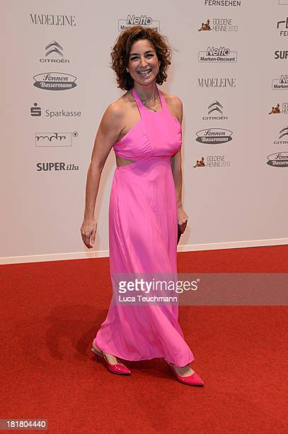 Isabel Varell attends the Goldene Henne 2013 at Stage Theater on September 25 2013 in Berlin Germany