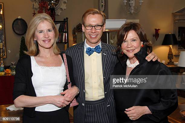 Isabel Wadsworth Mish Tworkowski and Suzanne Rheinstein attend Cocktails at Hollyhock Honoring Mish NY and the Breast Center at UCLA at West...