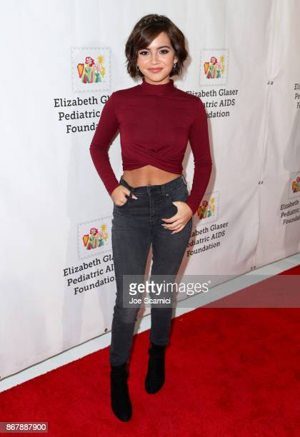 Isabela Moner at The Elizabeth Glaser Pediatric AIDS Foundation's 28th annual 'A Time For Heroes' family festival at Smashbox Studios on October 29...