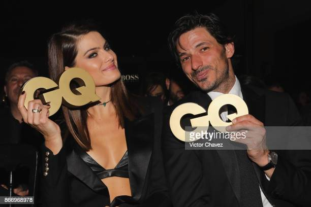Isabeli Fontana and Andres Velencoso attend the GQ Mexico Men of The Year Awards 2017 on October 26 2017 in Mexico City Mexico