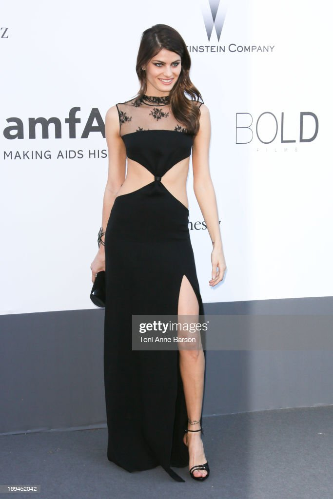 Isabeli Fontana arrives at amfAR's 20th Annual Cinema Against AIDS at Hotel du Cap-Eden-Roc on May 23, 2013 in Cap d'Antibes, France.