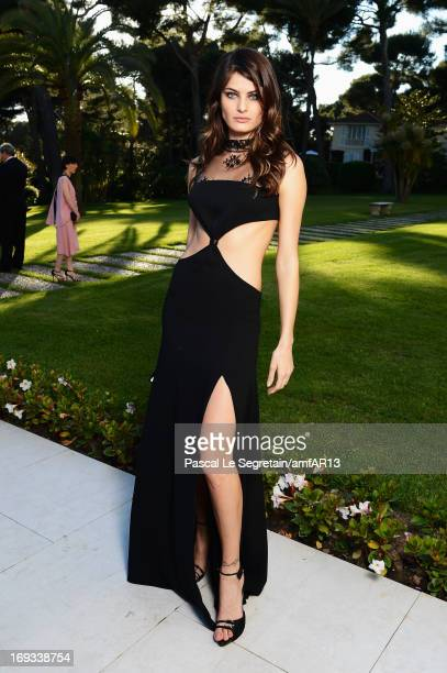 Isabeli Fontana attends amfAR's 20th Annual Cinema Against AIDS during The 66th Annual Cannes Film Festival at Hotel du CapEdenRoc on May 23 2013 in...
