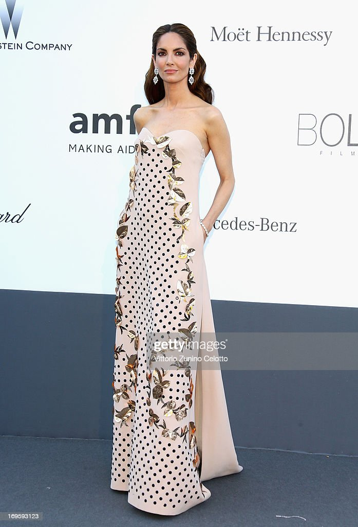Isabeli Fontana attends amfAR's 20th Annual Cinema Against AIDS during The 66th Annual Cannes Film Festival at Hotel du Cap-Eden-Roc on May 23, 2013 in Cap d'Antibes, France.
