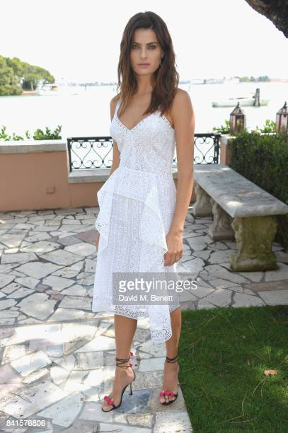 Isabeli Fontana attends an intimate lunch hosted by Livia Firth Carlo Capasa and Caroline Scheufele to announce Chopard as partner for The Green...
