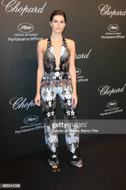Isabeli Fontana attends the Chopard Party during the 70th annual Cannes Film Festival at on May 19 2017 in Cannes France