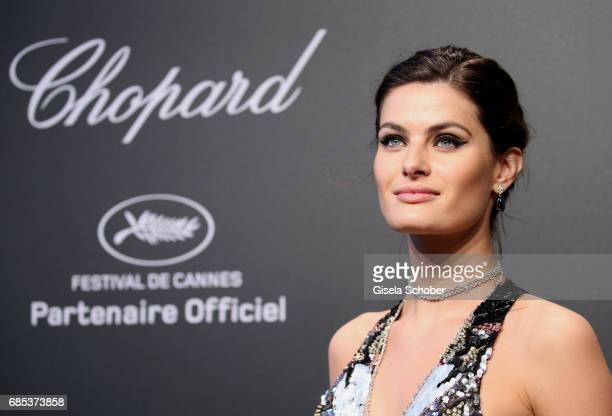 "Isabeli Fontana attends the Chopard ""SPACE Party"" hosted by Chopard's copresident Caroline Scheufele and Rihanna at Port Canto on May 19 in Cannes..."