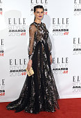 Isabeli Fontana attends the Elle Style Awards 2015 at Sky Garden @ The Walkie Talkie Tower on February 24 2015 in London UK