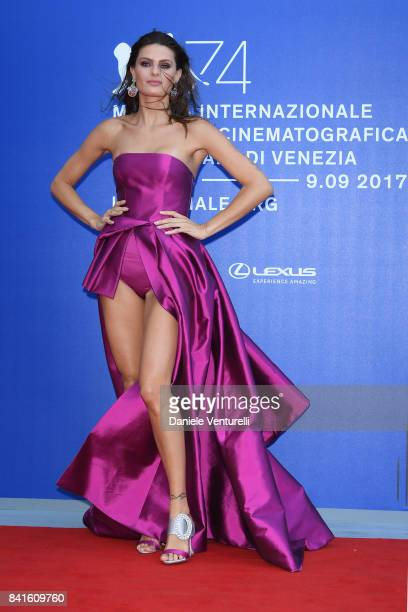 Isabeli Fontana attends the Franca Sozzani Award during the 74th Venice Film Festival on September 1 2017 in Venice Italy