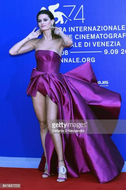 Isabeli Fontana attends the Franca Sozzanzi Award during the 74th Venice Film Festival on September 1 2017 in Venice Italy