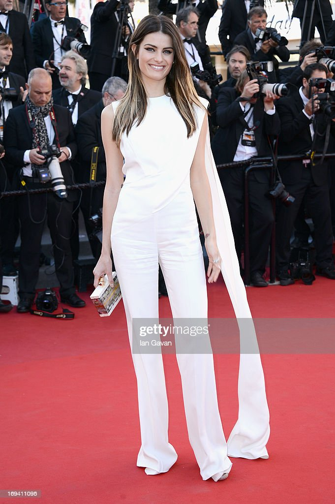 <a gi-track='captionPersonalityLinkClicked' href=/galleries/search?phrase=Isabeli+Fontana&family=editorial&specificpeople=220508 ng-click='$event.stopPropagation()'>Isabeli Fontana</a> attends 'The Immigrant' Premiere during the 66th Annual Cannes Film Festival at Grand Theatre Lumiere on May 24, 2013 in Cannes, France.