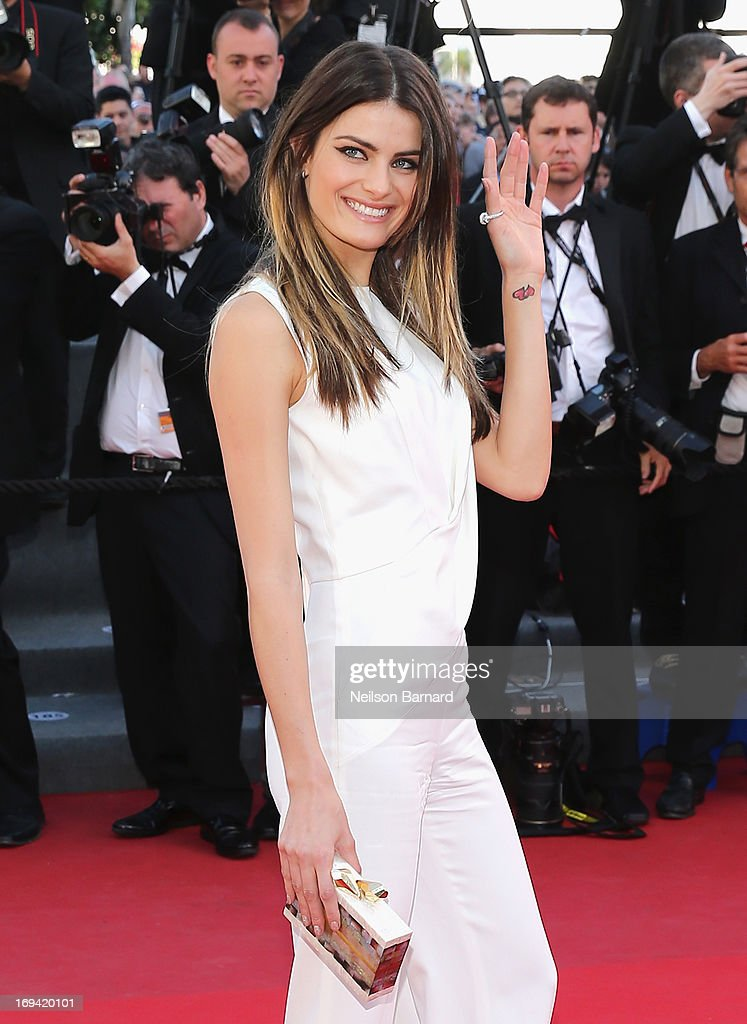 Isabeli Fontana attends 'The Immigrant' Premiere during the 66th Annual Cannes Film Festival at Grand Theatre Lumiere on May 24, 2013 in Cannes, France.