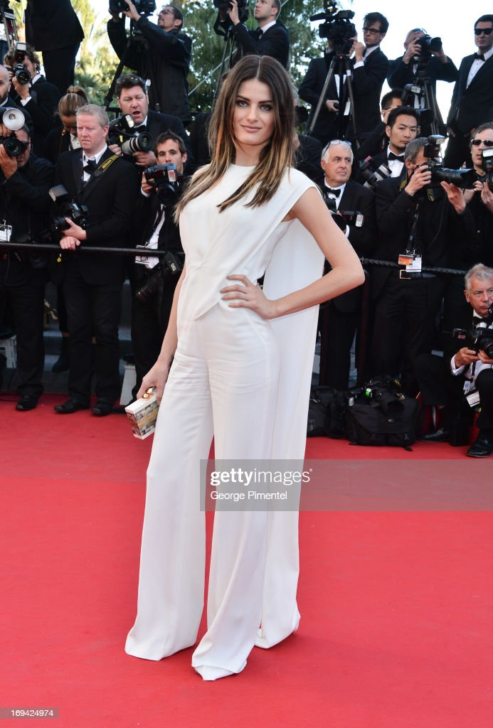 Isabeli Fontana attends the premiere of 'The Immigrant' at The 66th Annual Cannes Film Festival on May 24, 2013 in Cannes, France.