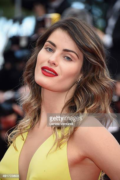 Isabeli Fontana attends the 'Saint Laurent' Premiere at the 67th Annual Cannes Film Festival on May 17 2014 in Cannes France