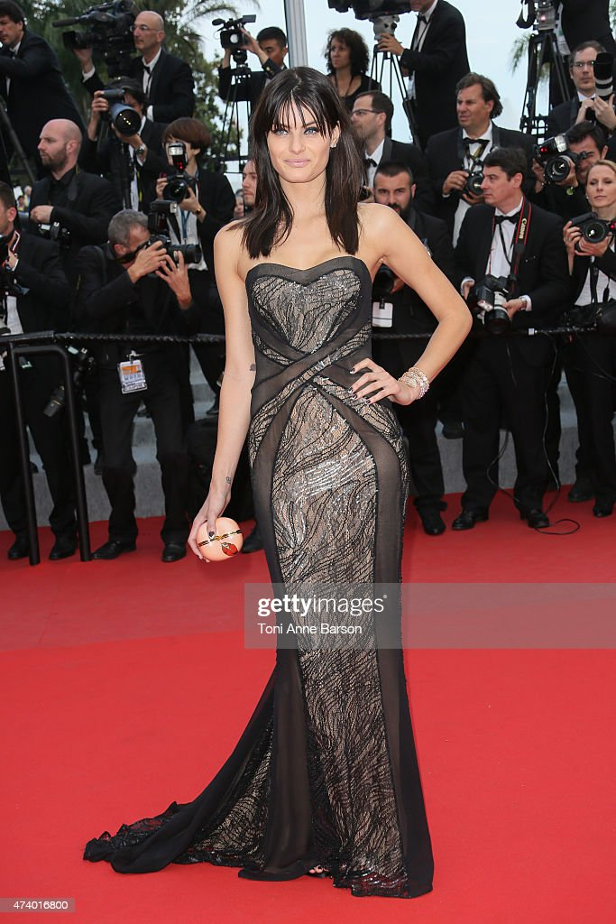 Isabeli Fontana attends the 'Sicario' premiere during the 68th annual Cannes Film Festival on May 19, 2015 in Cannes, France.