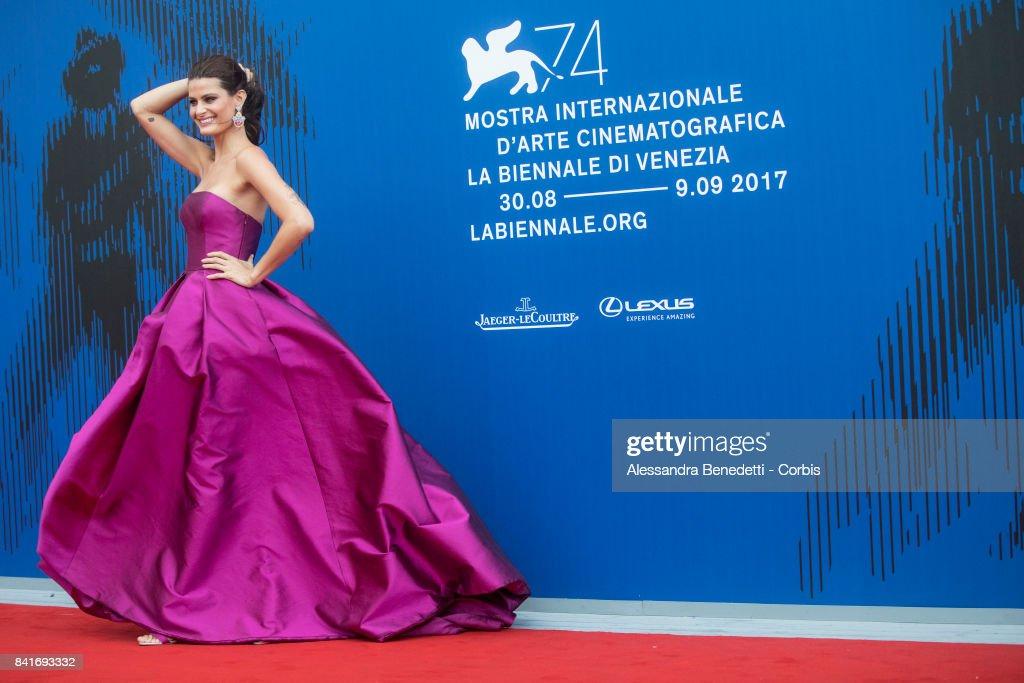 Isabeli Fontana attends the The Franca Sozzani Award during the 74th Venice Film Festival at Sala Giardino on September 1, 2017 in Venice, Italy.