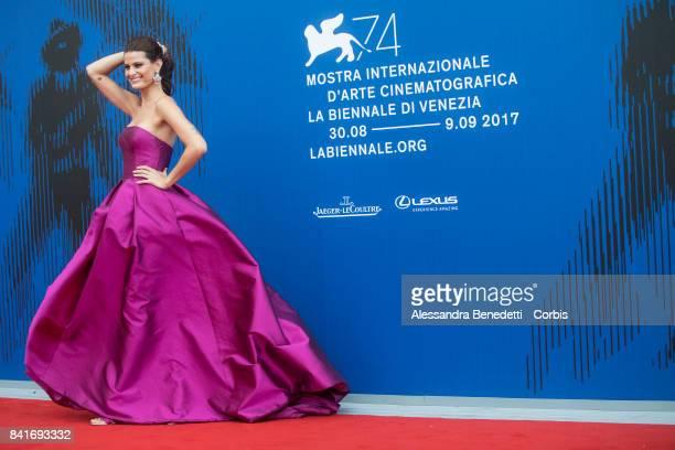Isabeli Fontana attends the The Franca Sozzani Award during the 74th Venice Film Festival at Sala Giardino on September 1 2017 in Venice Italy