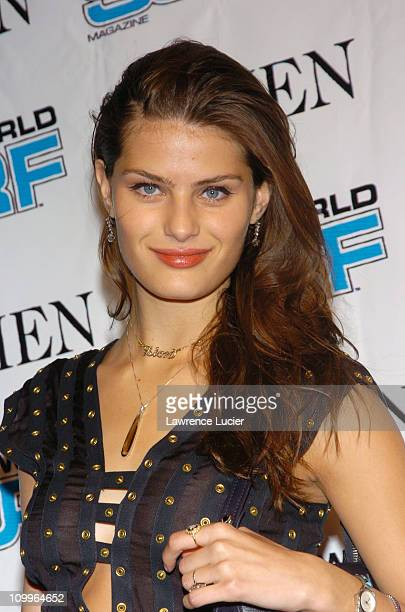Isabeli Fontana during 2nd Annual More Alpha Woman Award at Four Seasons Restaurant in New York City New York United States