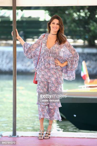 Isabeli Fontana is seen during the 74th Venice Film Festival on August 30 2017 in Venice Italy