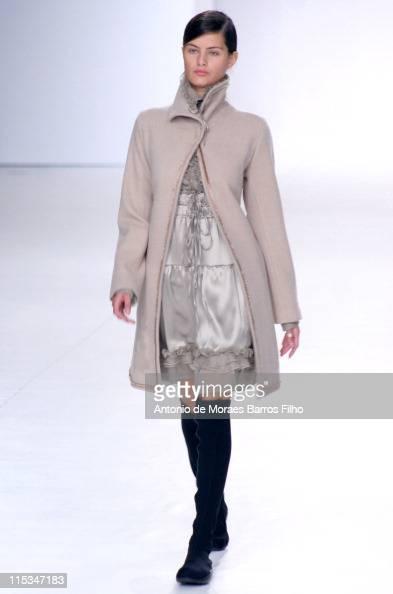 Isabeli Fontana wearing Gloria Coelho Fall/Winter 2006