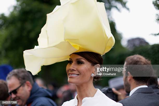 Isabell Kristensen on Day 1 of Royal Ascot at Ascot Racecourse on June 14 2016 in Ascot England