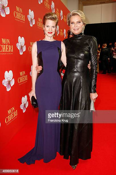 Isabell Minzi zu HohenloheJagstberg and Stephanie von Pfuel attend the Mon Cheri Barbara Tag 2014 at Haus der Kunst on December 4 2014 in Munich...