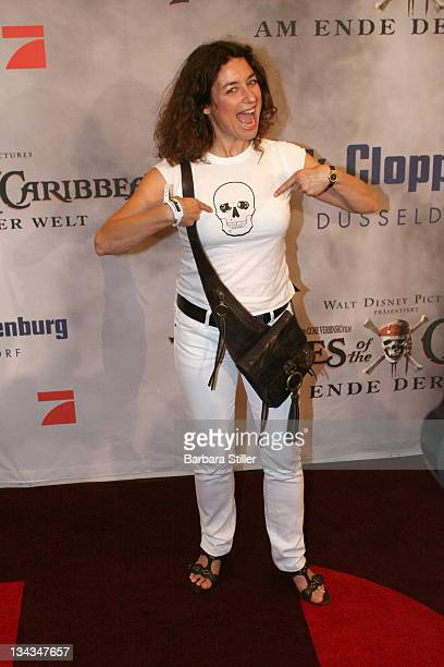 Isabell Varell during Gala Screening Pirates of the Caribbean at Peek Cloppenburg at Weltstadthaus P C in Cologne Cologne Germany