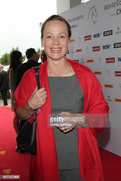 Isabell Werth attends the CHIO 2014 media night on July 15 2014 in Aachen Germany