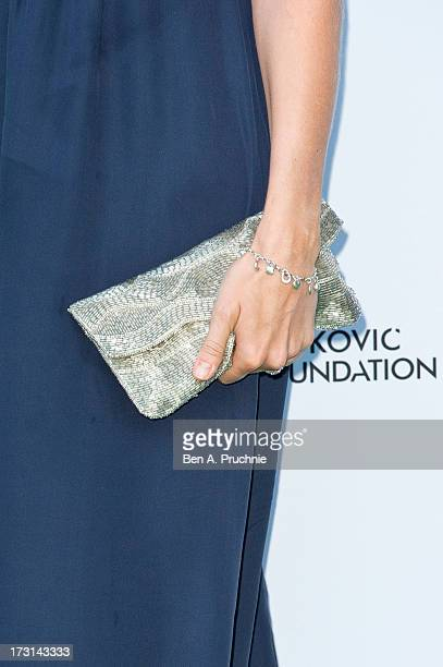 Isabella AnstrutherGoughCalthorpe attends the Novak Djokovic Foundation London gala dinner at The Roundhouse on July 8 2013 in London England