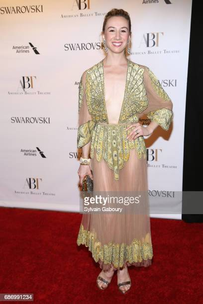 Isabella Boylston attends American Ballet Theatre Spring 2017 Gala at David H Koch Theater at Lincoln Center on May 22 2017 in New York City