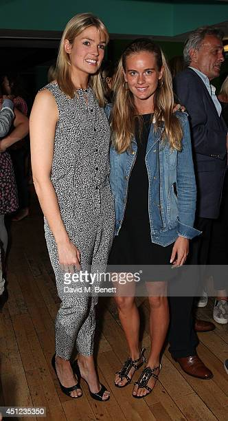 Isabella Calthorpe and Cressida Bonas attend an after party following the press night performance of 'The Colby Sisters Of Pittsburgh Pennsylvania'...
