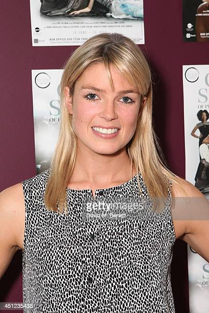 Isabella Calthorpe attends an after party following the press night performance of 'The Colby Sisters Of Pittsburgh Pennsylvania' at The Tricycle...