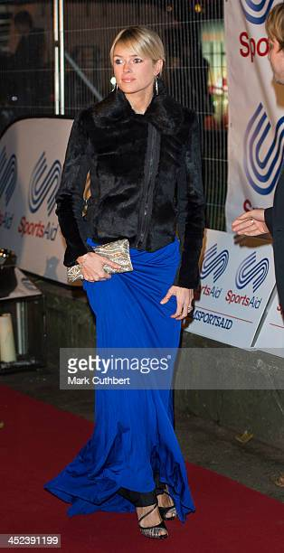 Isabella Calthorpe attends the annual SportsAid dinner at Victoria Embankment Gardens on November 28 2013 in London England