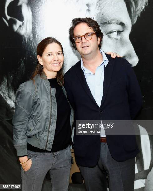 Isabella Capece and guest attend 'Picasso and Maya Father and Daughter' Exhibition Curated By Diana Widmaier Picasso at Gagosian Paris on October 19...