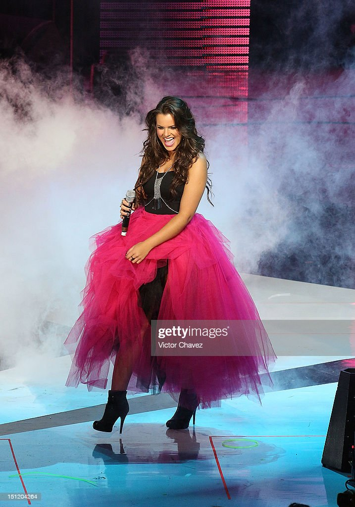 Isabella Castillo performs onstage at the Kids Choice Awards Mexico 2012 at Pepsi Center WTC on September 1, 2012 in Mexico City, Mexico.