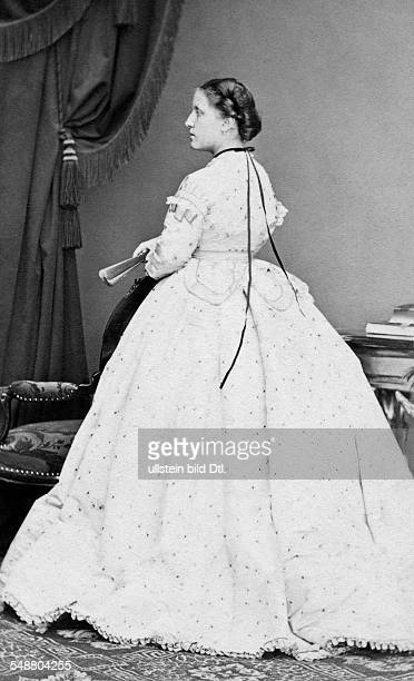 Isabella Crown Princess of Brazil *29061846 daughter of Peter II Emperor of Brazil and Teresa Maria Empress of Brazil Photographer Ludwig Angerer...