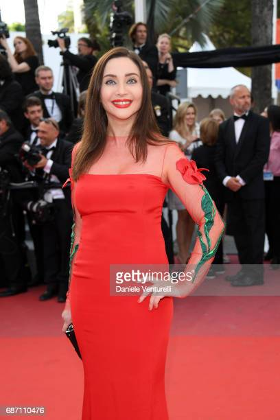 Isabella de Ligne La Tremoille attends the 'The Meyerowitz Stories' screening during the 70th annual Cannes Film Festival at Palais des Festivals on...